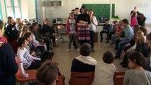 Ateliers Flamenco à l'école par la compagnie Laura Vital