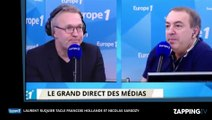 ONPC : Laurent Ruquier clashe François Hollande et Nicolas Sarkozy (Vidéo)