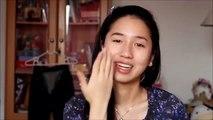 Make-up-Vergleich vorher-nachher: Vor