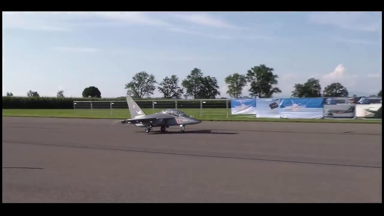 Yakovlev Yak-130 Takeoff Airshow 2016