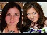 Bilder von Mädchen, die vor und nach dem make-up Vor und Nach dem Make-up