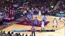 LeBron James Triple-Double 2016.03.21 vs Nuggets - 33 Pts, 11 Rebs, 11 Assists!