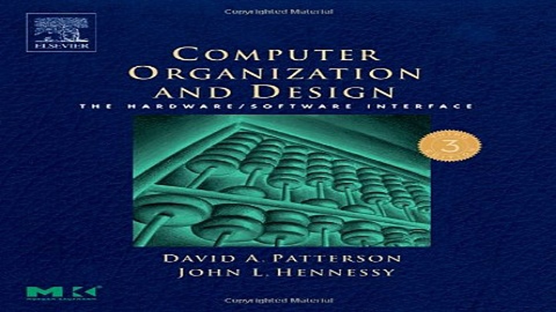 Read Computer Organization And Design Third Edition The Hardware Software Interface Third Video Dailymotion