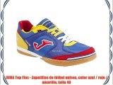 JOMA Top Flex - Zapatillas de fútbol unisex color azul / rojo / amarillo talla 40