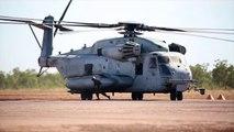 U.S. Marine Corps CH 53E Sea Stallion Actions