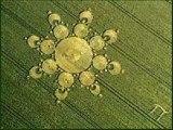 Crop circles, grass circles, sand circles and ice circles