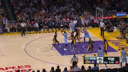 Basket - NBA : Les 9 points de Lauvergne contre les Lakers