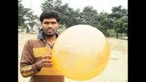 Amazing Balloon Exercise ( Slow Motion Balloon Pop ) Balloon Show - BLOWING A BALLOON TILL IT POPS