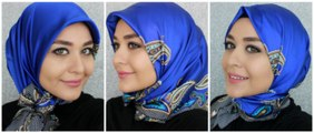 3 Turkish Inspired Hijab Styles Latest -Beautiful Turkish Hijab Style -