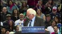 Quand un oiseau décide de soutenir Bernie Sanders