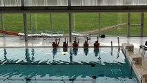 Chorégraphie de natation synchronisée I'm always here - Jim Jameson
