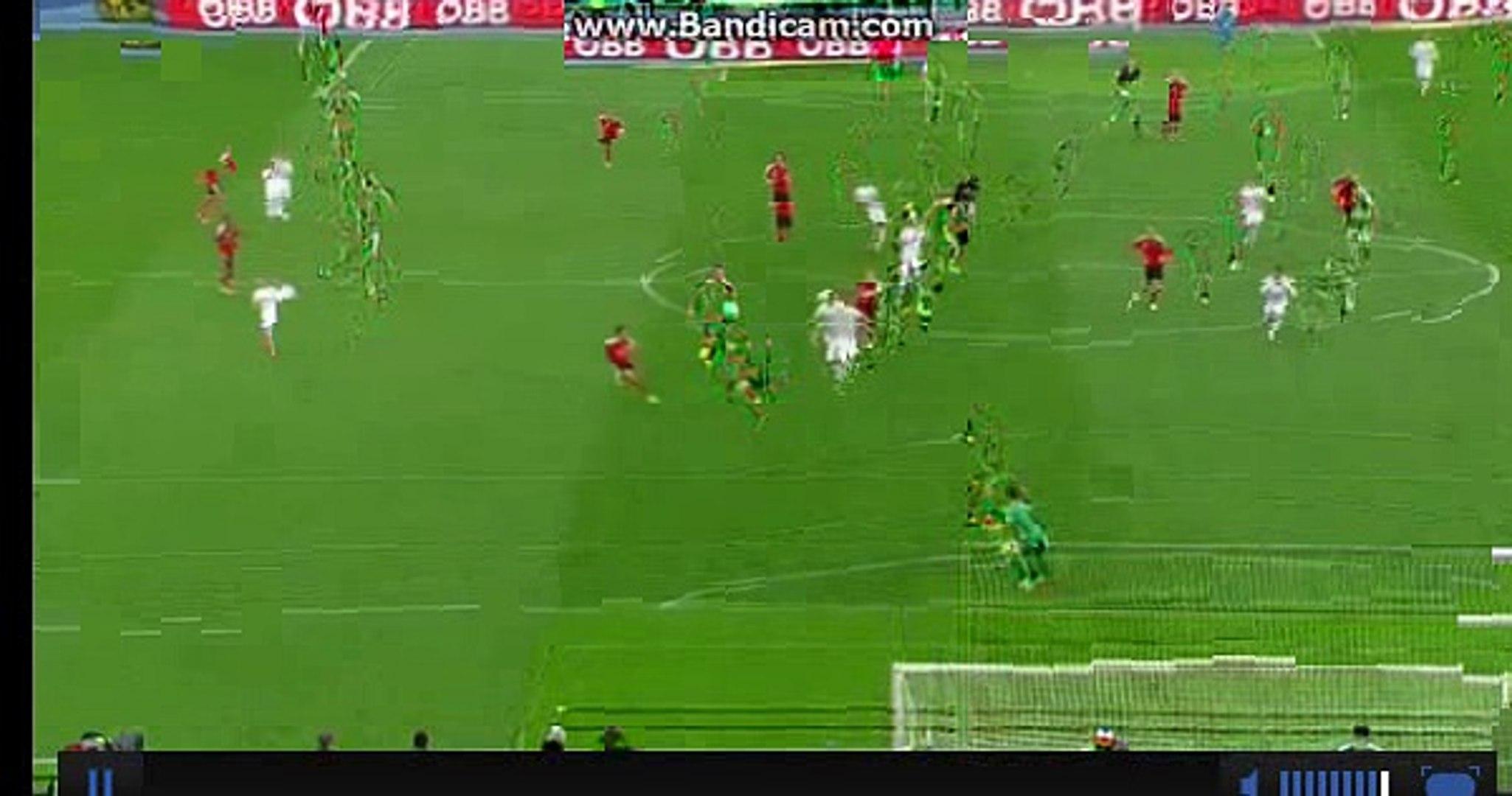 goal for austria goal min.13;austria 2-0-albania 26.03.2016