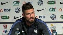 Foot - Amicaux - Bleus : Giroud «Ça nous touchera forcément»