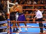 MIKE TYSON VS. EVANDER HOLYFIELD I - Boxing Fight Fighting MMA Mixed Martial Arts Sports Match