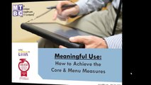 Meaningful Use Menu Measure # 3: Patient Lists