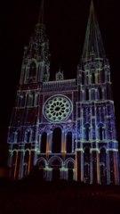 Notre-Dame de Chartres en lumière