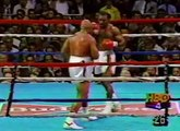 EVANDER HOLYFIELD VS. GEORGE FOREMAN - Boxing Fight Fighting MMA Mixed Martial Arts Sports Match