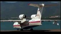 Beriev Be-200 Altair takeoff 2016 (Amphibious Aircraft)