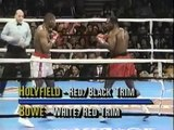 EVANDER HOLYFIELD VS. RIDDICK BOWE I - Boxing Fight Fighting MMA Mixed Martial Arts Sports Match