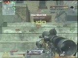 MW2 Sniper QUICK NO Scopes Good Kills