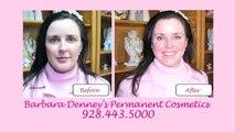 Permanent Make-up Vor und Nach Beispiele