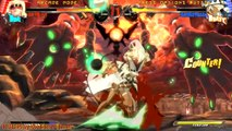 """Guilty Gear Xrd - SIGN - PS4 - """"Zato"""" Arcade Mode - Stage 8: Ramlethal & Ending {English, Full HD}"""