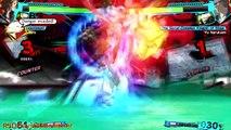 """Persona 4 Arena Ultimax - Story Mode Battles #1: """"Yosuke Hanamura Vs. Yu Narukami"""" {English, HD}"""