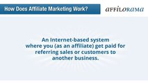 How Does Affiliate Marketing Work | Learn how to make money online as an affiliate