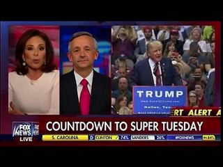 Judge Jeanine Pirro - Donald Trump Momentum Builds Ahead Of Super Tuesday