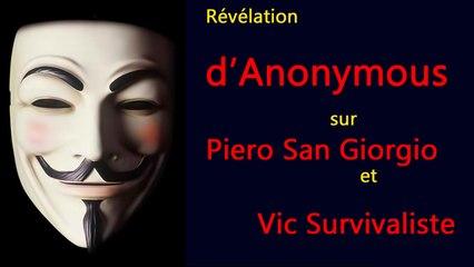 Révélations sur Piero San Giorgio et Vic Survivaliste