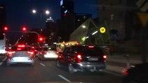 2015 Mercedes Benz C Class C200 C300 City Night Ride Drive Driving Cruising