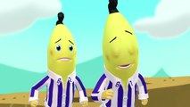 Bananas ride down the mountain | Bananas in Pyjamas