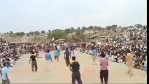 shooting volley ball show match (wali ball ) sports