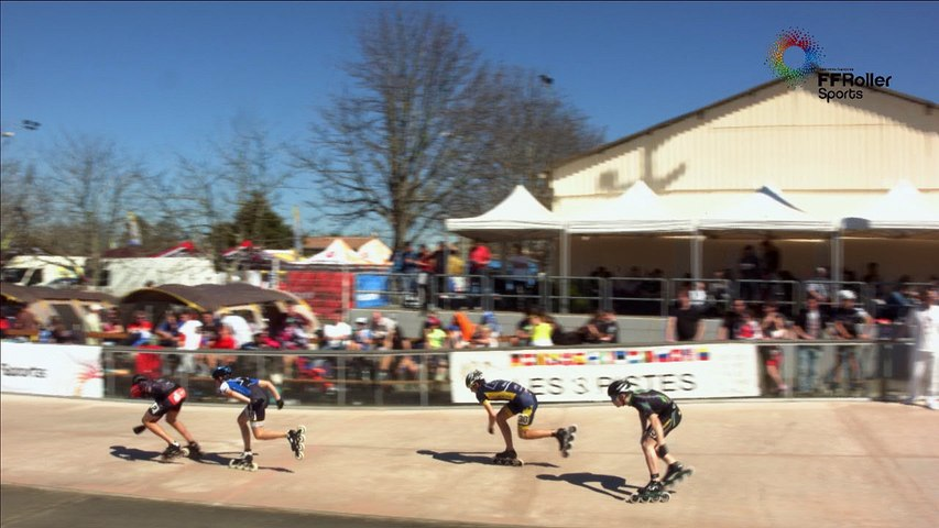 3 Pistes 2016 Pibrac Junior B H 500m 1/2 final 2nd