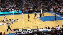 Russell Westbrook Amazing Slam Dunk   Spurs vs Thunder   March 26, 2016   NBA