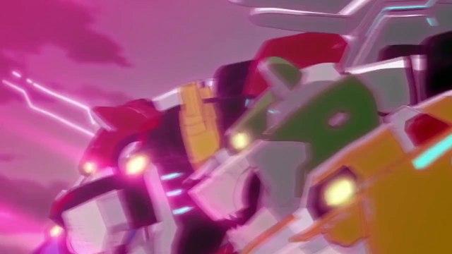 Voltron Legendary Defender - Forming a Legend | official trailer Wondercon (2016) Netflix