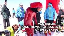 Sport ! Ivan Origone bat le record du monde de ski de vitesse à Vars !