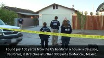 Drug smuggling tunnel discovered in California house