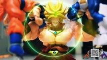 Dragon Ball Stop Motion : Broly vs Sangoku & Vegeta