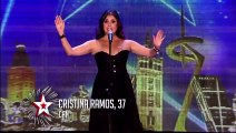 Cristina Ramos - Got Talent 2016 Opera Rock - Highway to hell