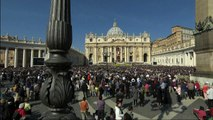 Pope Francis celebrates Easter Sunday Mass in St. Peter's Square