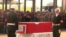 Şehit Jandarma Uzman Çavuş Aykut ve Şehit Polis Nazilli İçin Tören (2)