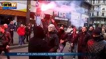 """""""On est chez nous !"""": 300 nationalistes troublent le recueillement à Bruxelles"""