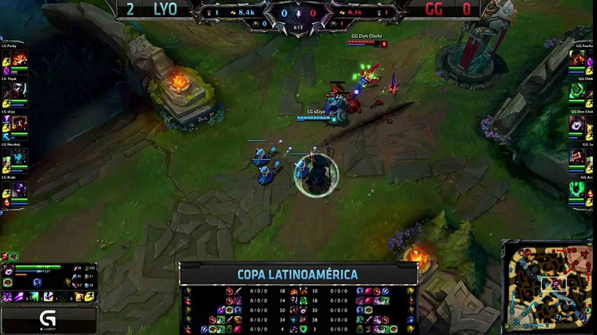 Lyon Gaming vs Gaming Gaming - La Final 43