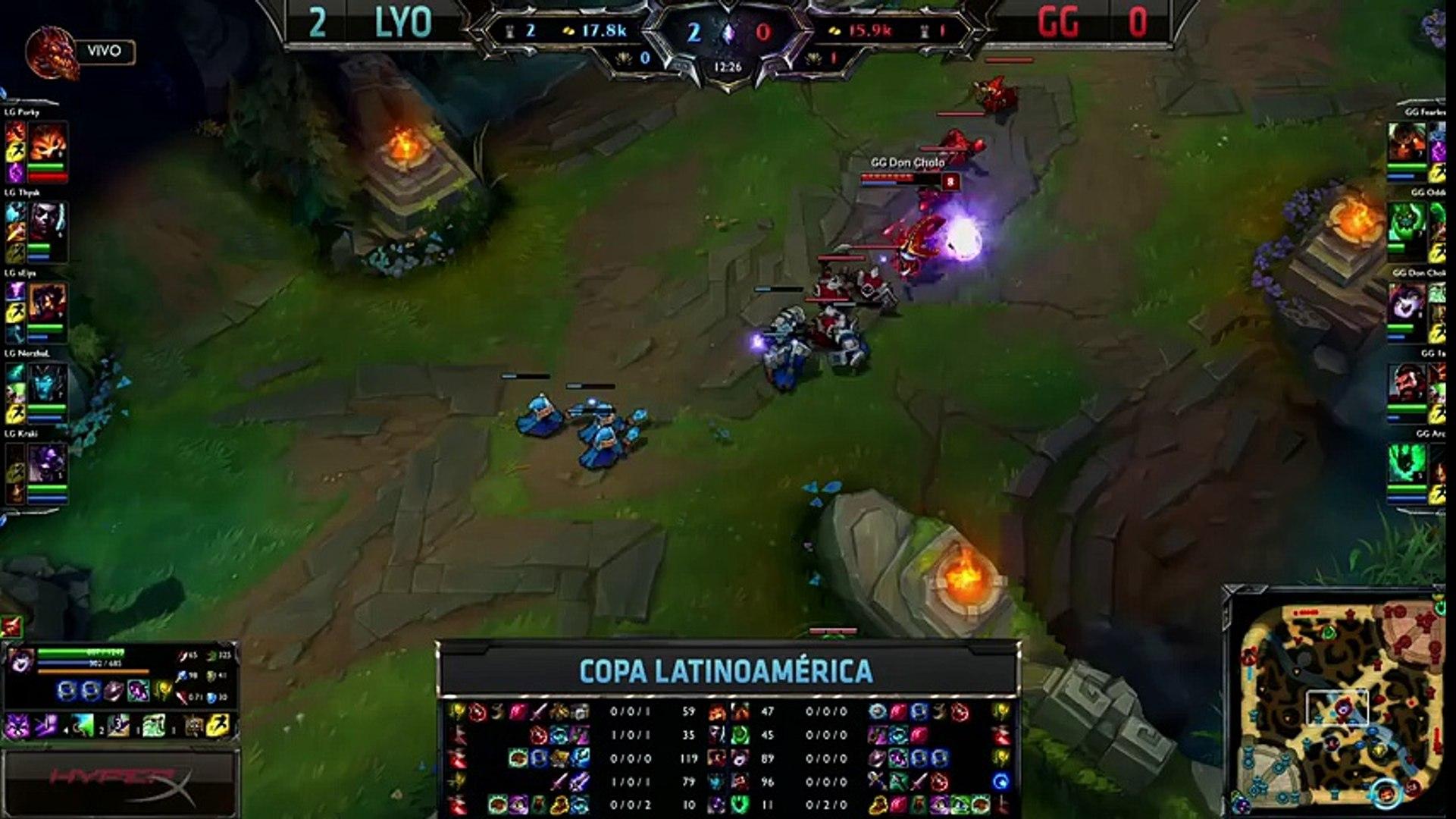 Lyon Gaming vs Gaming Gaming - La Final 37