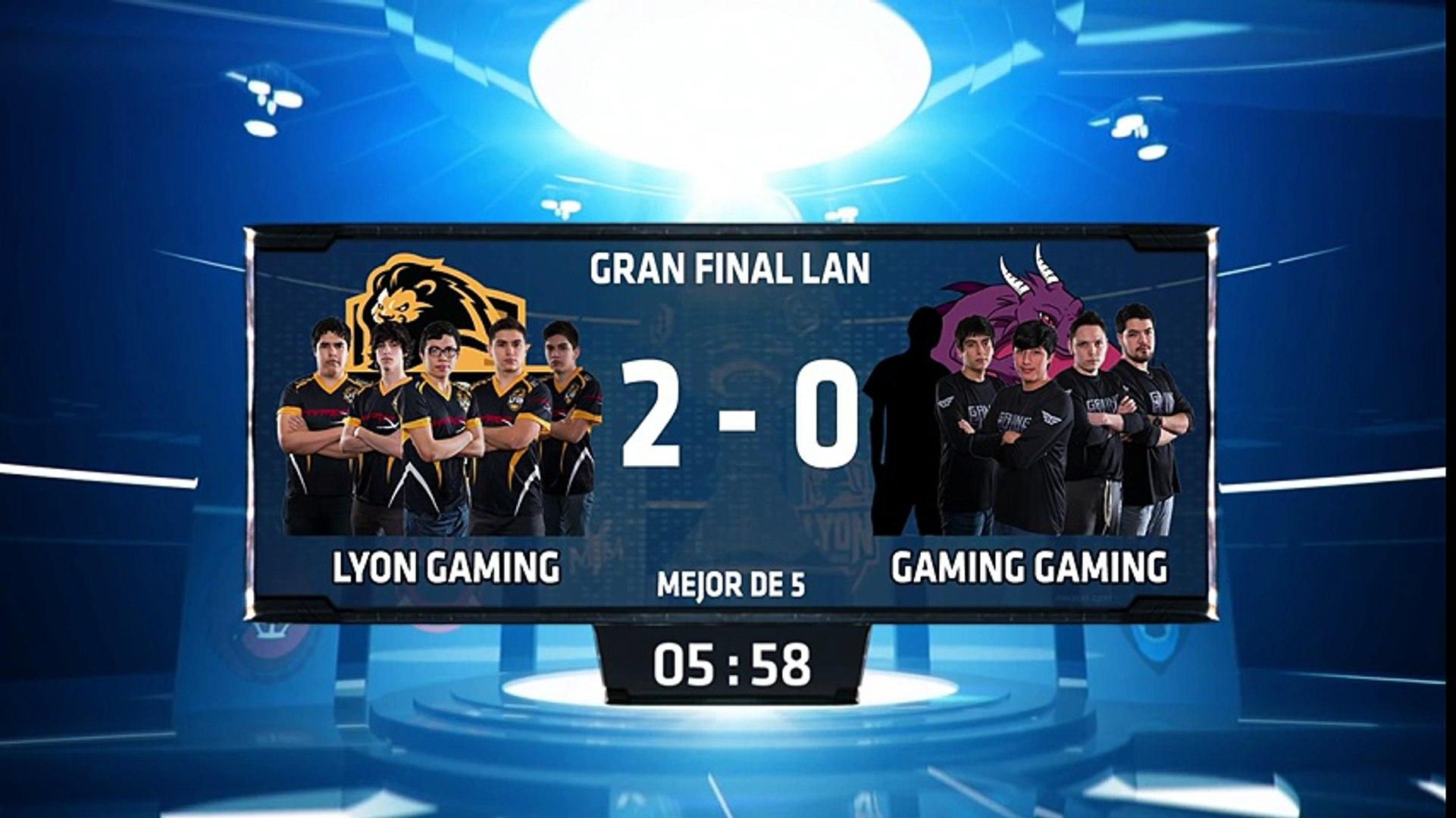 Lyon Gaming vs Gaming Gaming - La Final 64