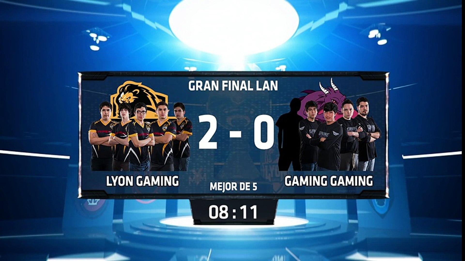 Lyon Gaming vs Gaming Gaming - La Final 66