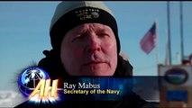 Massive US Submarines Breaking Through Ocean of Ice in the Arctic