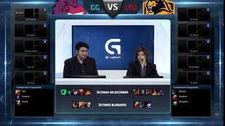 Lyon Gaming vs Gaming Gaming - La Final 104