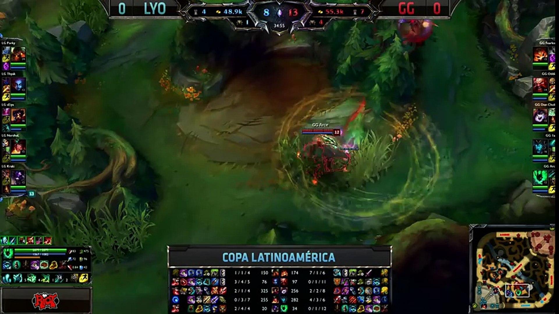 Lyon Gaming vs Gaming Gaming - La Final 129